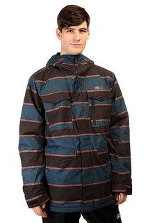 Куртка утепленная Burton Mb Covert Jk Mascot Nyack Stripe