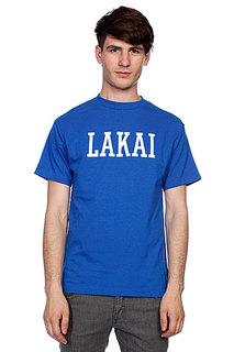 Футболка Lakai College Royal Blue