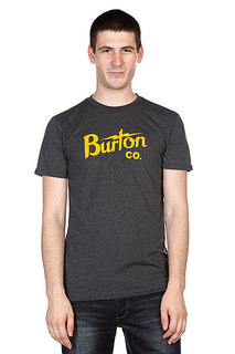 Футболка Burton Bolt Slim Heather True Black