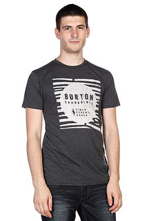 Футболка Burton Brkthrough Slim Heather True Black