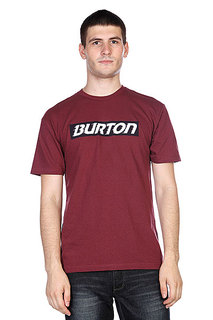 Футболка Burton Slow Motion Ss Sangria