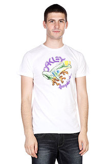 Футболка Oakley Rock The Frogskins Tee White