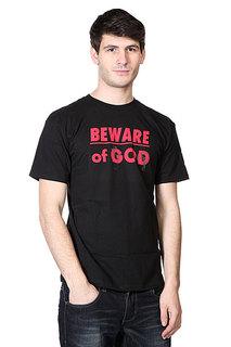 Футболка Neff 3d Beware Of God Black