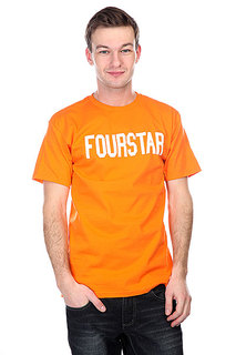 Футболка Fourstar League Orange