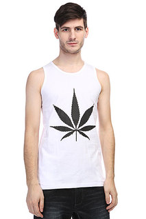 Майка TrueSpin Cannabis White