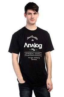 Футболка Analog Ag The Goods Ptd Ss Black