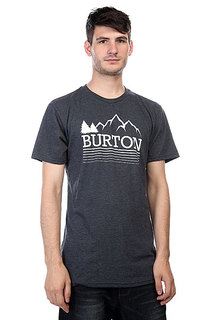 Футболка Burton Mns Griswold Rec Heather Eclipse