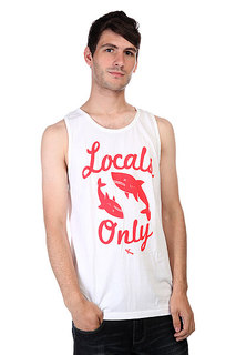 Майка Lost Locals Only White