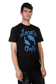 Футболка Lost Locals Only Black