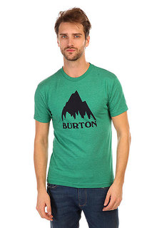 Футболка Burton Mns Classic Mtn Heather Ultramarine