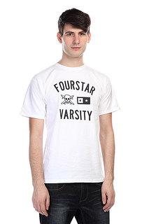 Футболка Fourstar Varsity White