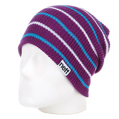 Шапка носок Neff Daily Multistripe Purple