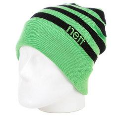 Шапка Neff Bumble Green/Black
