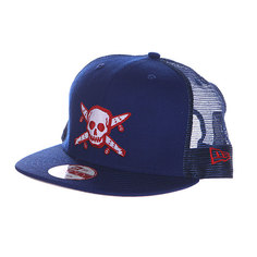Бейсболка Fourstar Pirate New Era Roy Blue