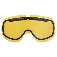 Линза для маски Electric EG5 Snow Yellow Chrome