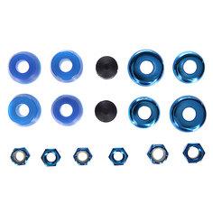 Амортизаторы для скейтборда Thunder 95du Rebuild Kit Blue