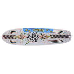 Дека для скейтборда для лонгборда Krooked Zinger Nano Kuztomz 29 x 7.125 (18.1 см)