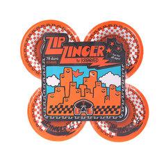 Колеса для скейтборда для лонгборда Krooked Zip Zinger Orange 78A 65 mm