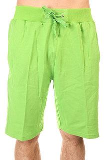 Шорты классические Urban Classics Light Fleece Sweatshorts Limr Green