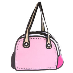 Сумка через плечо Jump from paper 2D Pretty Handbag Pink/White/Black