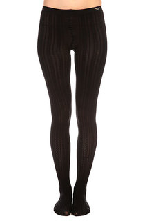 Колготки женские Roxy Footed Opaque Cable Tights True Black