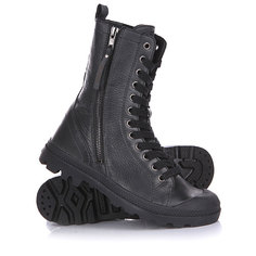 Ботинки женские Palladium Pampa Hi Rise L Zip Black