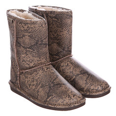 Угги женские Bearpaw Emma Short Natural Snake