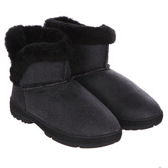 Угги Bearpaw Heidi Black Distressed