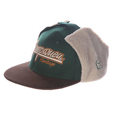 Бейсболка Запорожец Dog-Ears Snapback Embroidery Green