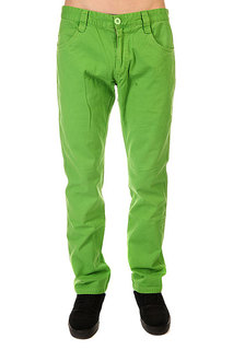 Штаны прямые Urban Classics 5 Pocket Pants Limegreen