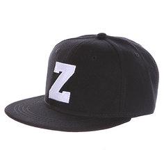 Бейсболка с прямым козырьком Truespin Abc Black Z