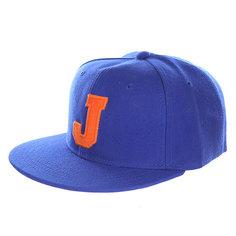 Бейсболка с прямым козырьком Truespin Abc Royal J