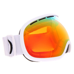 Маска для сноуборда Von Zipper Fishbowl Matte Fire Chrome