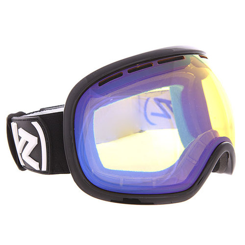 Маска для сноуборда Von Zipper Fishbowl Yellow Chrome