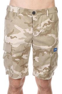 Шорты Skills Cargo Shorts 2 Biege/Camo