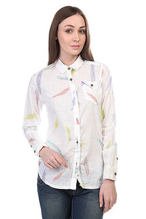 Рубашка женская Burton Wb Bristol Wvn Shrt Vanilla Feather