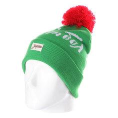 Шапка с помпоном Запорожец Football Beanies Light Green