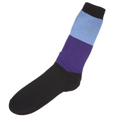 Носки Shweyka Stripe Socks Blue/Violet/Black
