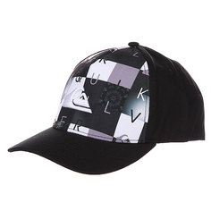 Бейсболка Quiksilver Pintails Hats Black