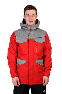 Куртка Burton Mb Covert Jk Campfire/Heather Grey