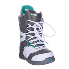Ботинки для сноуборда женские Burton Coco White/Grey/Teal