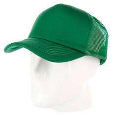 Бейсболка с сеткой True Spin Basic Trucker Dark Green