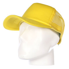 Бейсболка с сеткой True Spin Basic Trucker Yellow