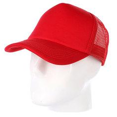 Бейсболка с сеткой True Spin Basic Trucker Red