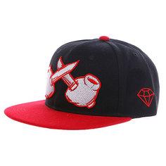 Бейсболка TrueSpin Knives Crossed Black Red