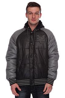 Куртка зимняя Zoo York Roxbury Washed Black