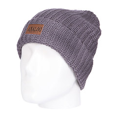Шапка вязаная Analog Counterfeit Beanie Gray Skies
