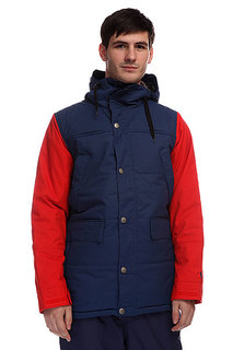Куртка Burton Shackleton Jacket Atlantic Burner
