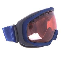 Маска для сноуборда Oakley Crowbar Peacoat Blue W/ Rose