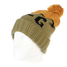 Шапка с помпоном Analog Endorse Beanie Mash Green